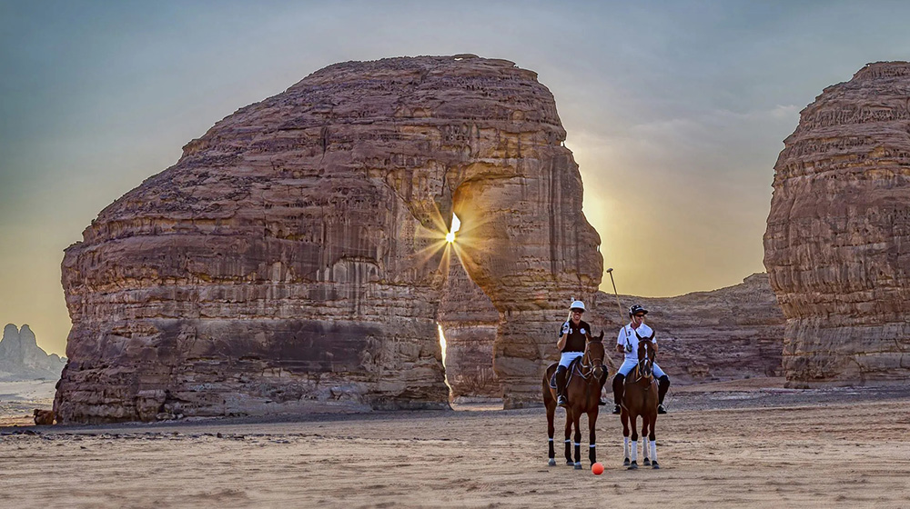 AlUlA is the magical scenery for the first ever Desert Polo